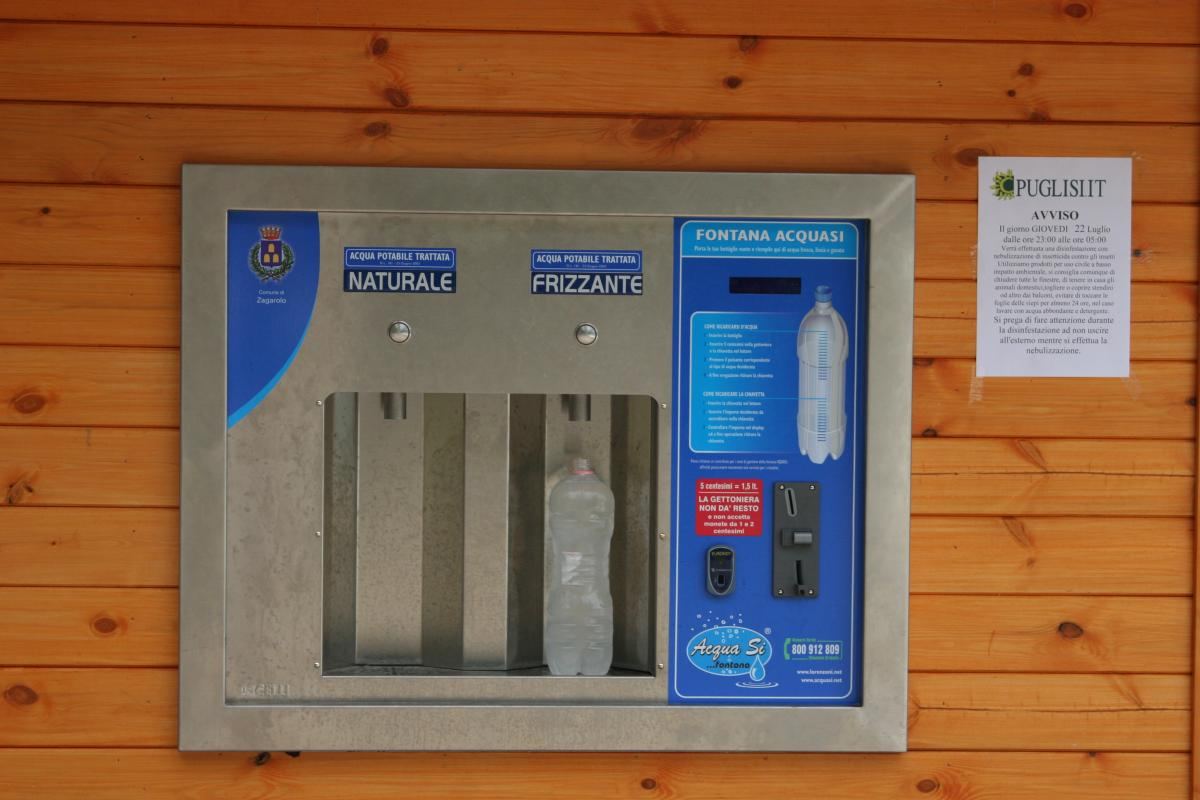 Inaugurato il Distributore dell'Acqua