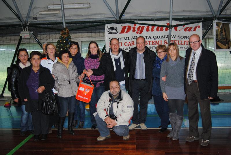 Sport e Solidarietà, un defibrillatore donato al P. Arrigo di Zagarolo