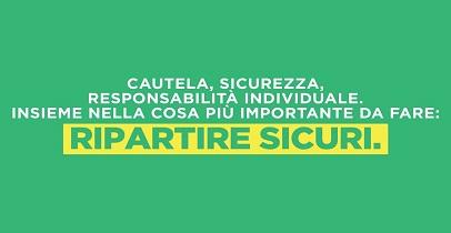 RIPARTIRE SICURI - ORDINANZA E LINEE GUIDA DELLA REGIONE LAZIO